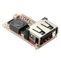 Module d'alimentation Abaisseur de sortie USB DC-DC 6-24V à 5V