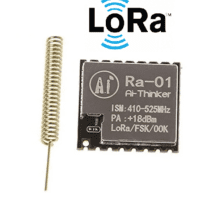 Module émetteur-récepteur LoRa Ra-01-433Mhz Ai-Thinker