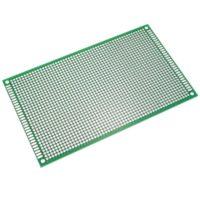 Carte de prototype PCB Perforée double face 8x12cm