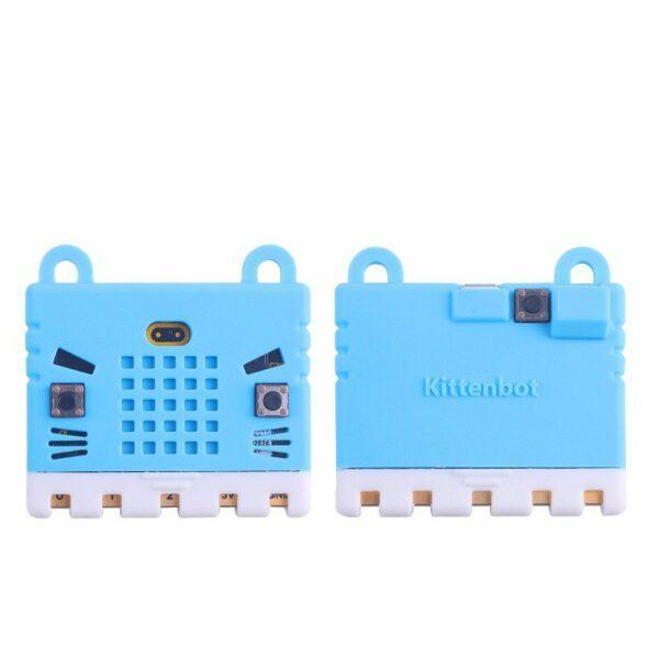 Housse de protection en silicone pour microbit en bleu