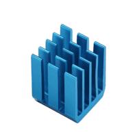 Dissipateur MOSFET en alliage d'aluminium bleu pour Raspberry PI3