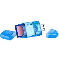 Adaptateur USB carte de mémoire flash SD / MMC / RS-MMC